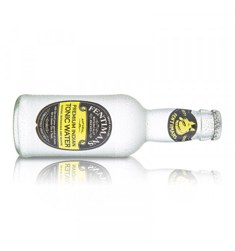 Fentimans Agua Tónica Indian (200 ml) - Pack x4