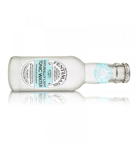 Fentimans Agua Tónica Light (200 ml) - Pack x4