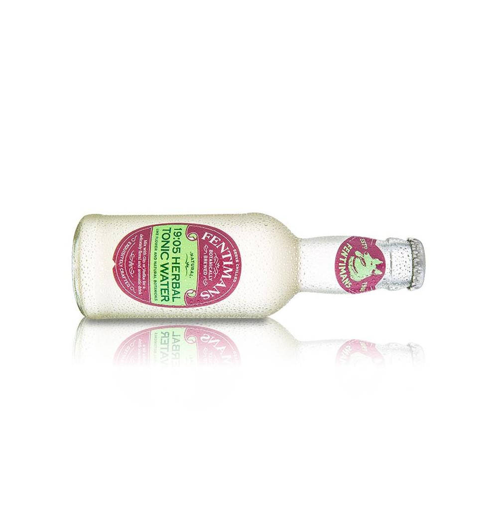 Fentimans Agua Tónica Herbal (200 ml) - Pack x4