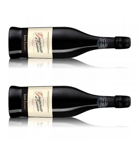 Vermouth Yzaguirre Rojo (1000 ml) + 2 vasos en guacal cuadrado