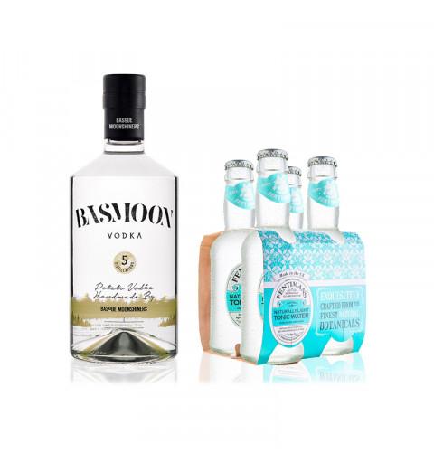 Vodka basmoon + Tónica Ligth