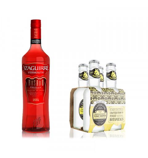 Vermouth Rosado + Tónica