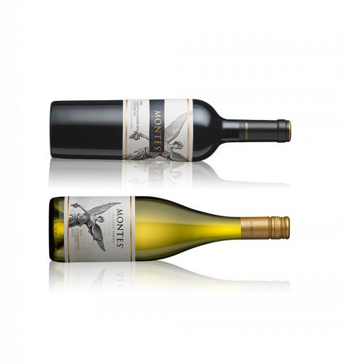 Vino Blanco - Montes Classic Series (375 ml) Chardonnay