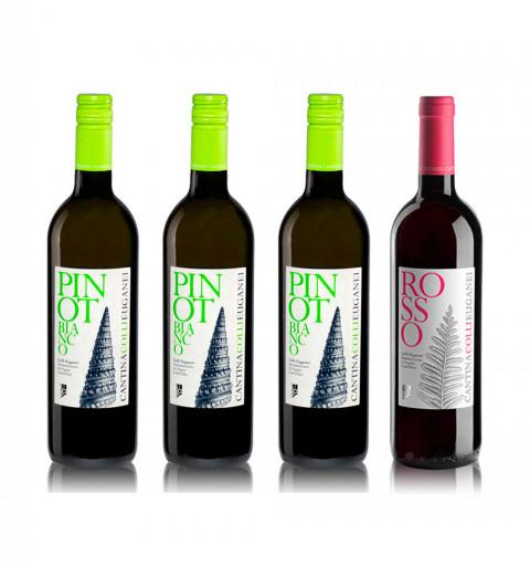 Compra 3 Cantina Colli Euganei Pinot Blanco y recibe gratis 1 Cantina Colli Euganei Rosso Tinto