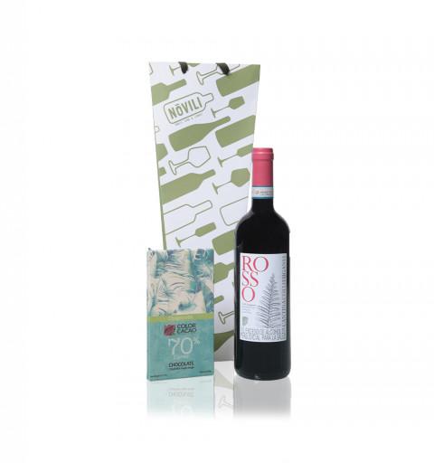 copy of Vino Tinto - Cantina Colli Euganei Rosso + Chocolate Color Cacao 70%