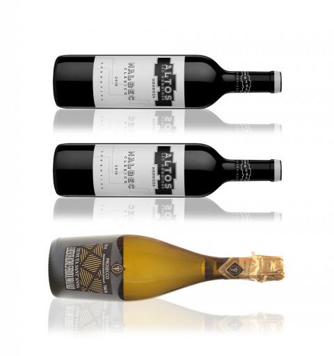 2 botellas Altos Las...