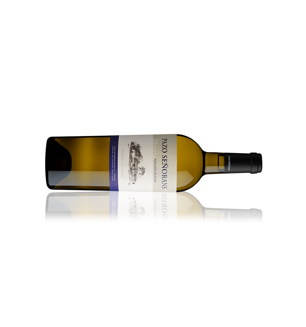 Vino blanco Pazo Señorans albariño selección de añada