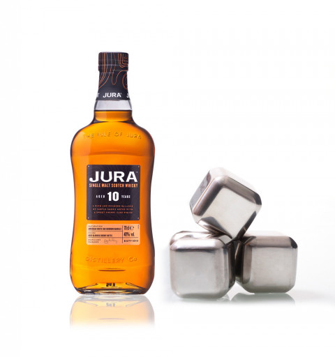 Whisky Jura 10YO + set 4...