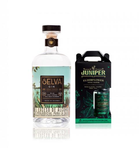 Ginebra Selva +  Pack x 4...
