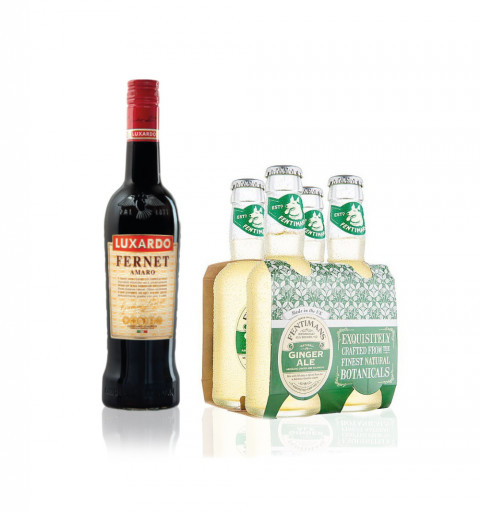 Fernet Luxardo + 4pack...