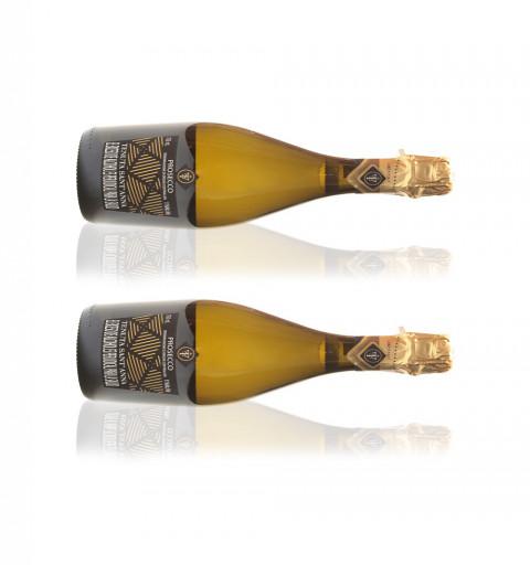 2 botellas Vino Espumante -...