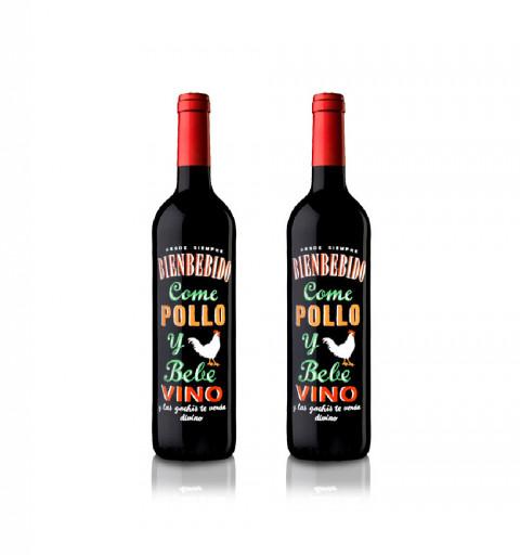 2 botellas de Bienbebido:...