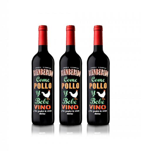 3 botellas de Bienbebido:...