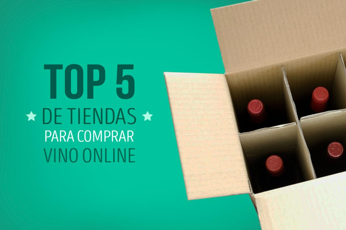 Top 5 de las mejores tiendas para comprar vino online
