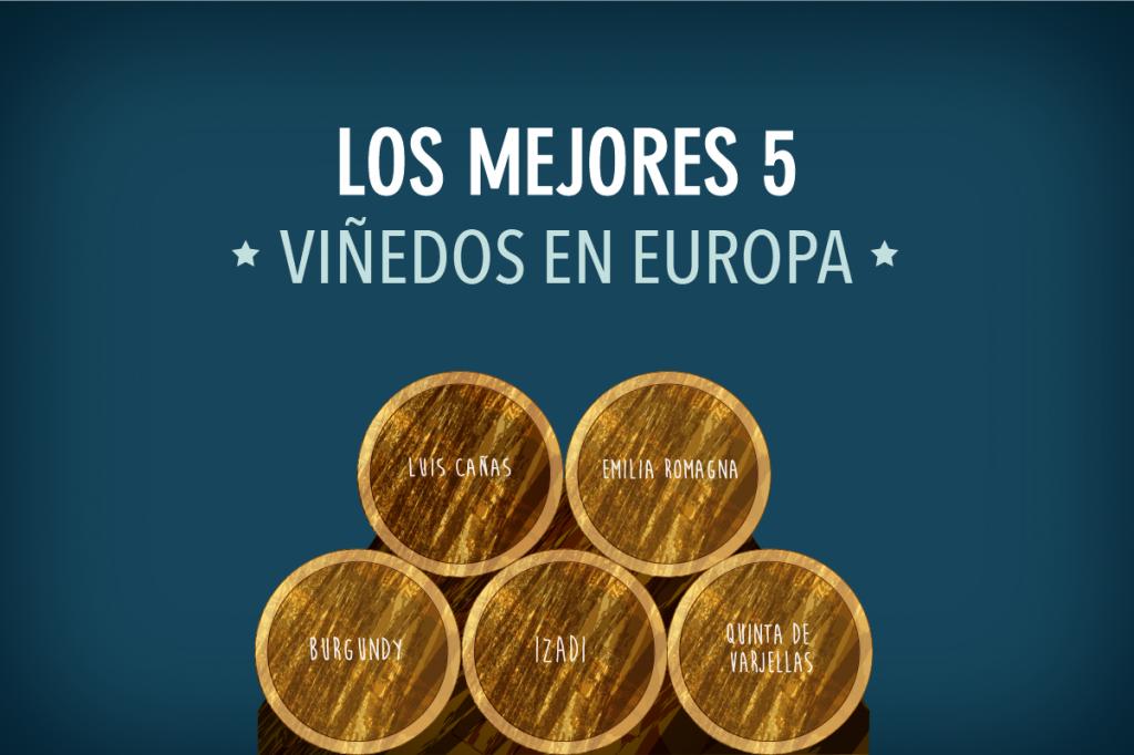 5mejores viñedos en Europa