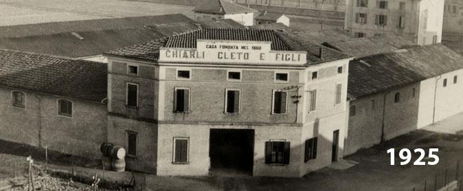 Bodegas Cleto Chiarli 1925
