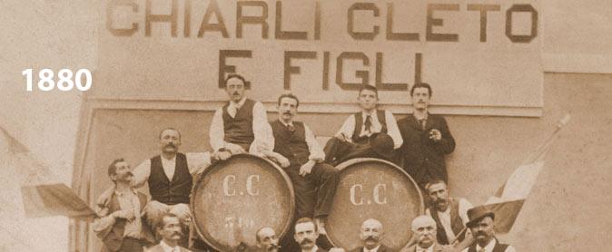 1880 bodega Cleto Chiarli