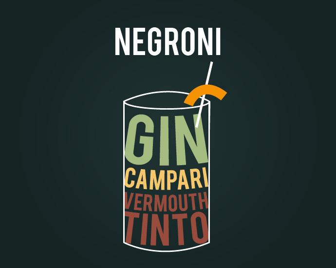 Cóctel Negroni