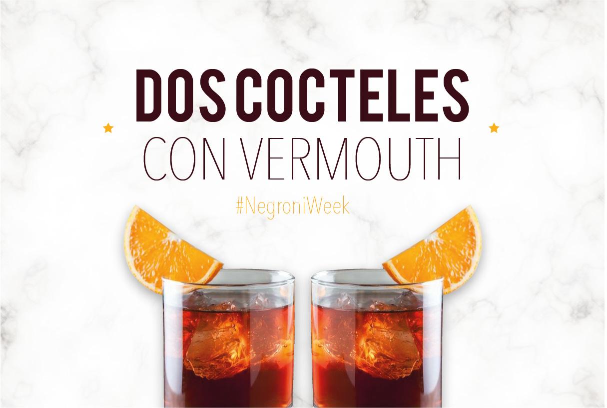 Dos Cocteles con Vermouth