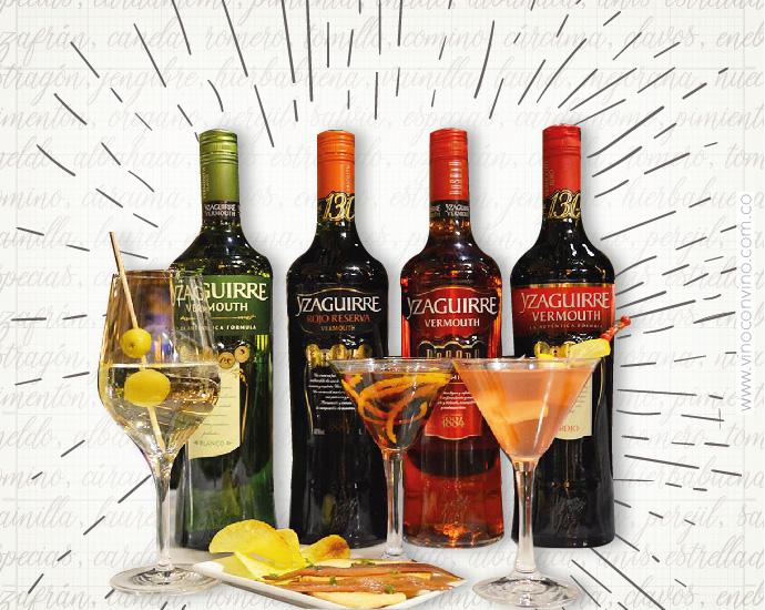 Tipos de Vermouth Yzaguirre