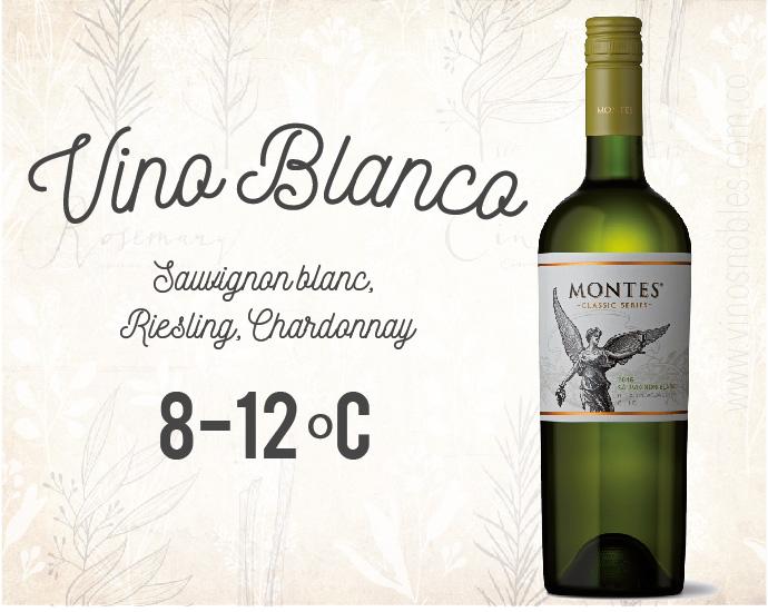 Temperatura del Vino Blanco