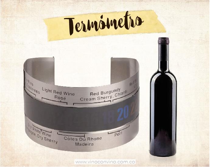 Un amante del vino debe tener: Termómetro