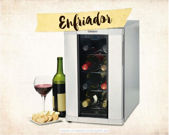Un amante del vino debe tener: Refrigerador