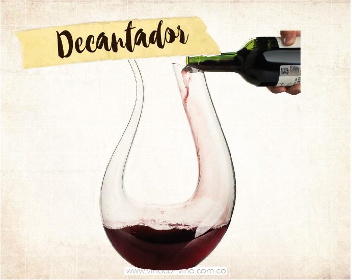 Un amante del vino debe tener: Decantador