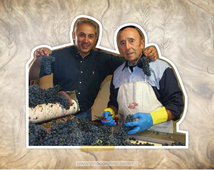 Luis Cañas y sus uvas