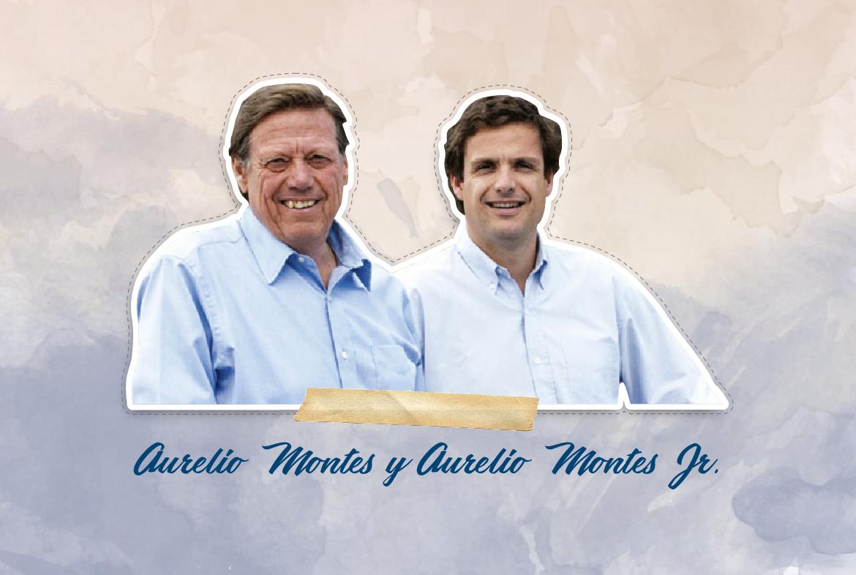 Aurelio Montes y Aurelio Montes Jr