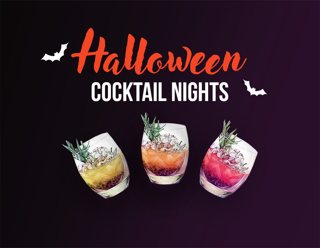 Cocteles para la noche de halloween