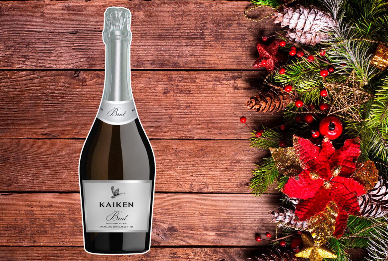 Regalos de navidad con vino para celebrar: Kaiken Brut