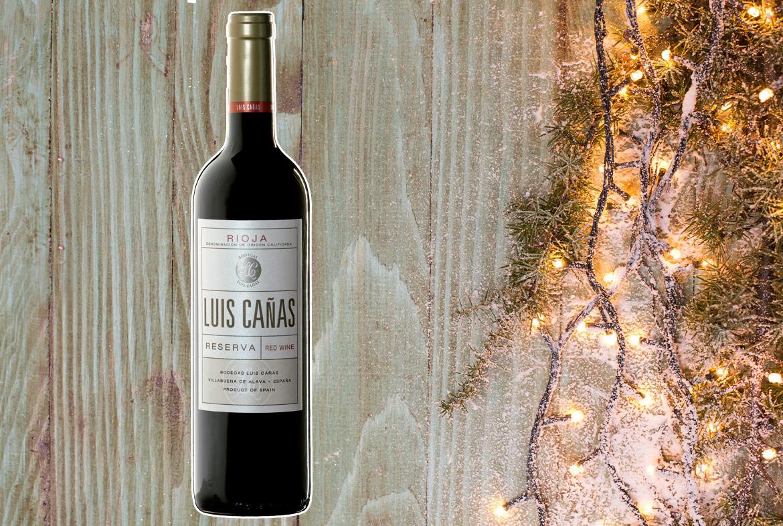 Regalos de navidad con vino: Luis Cañas Reserva