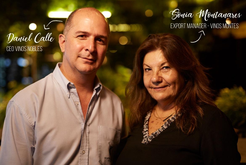 Daniel Calle y Sonia Montanares