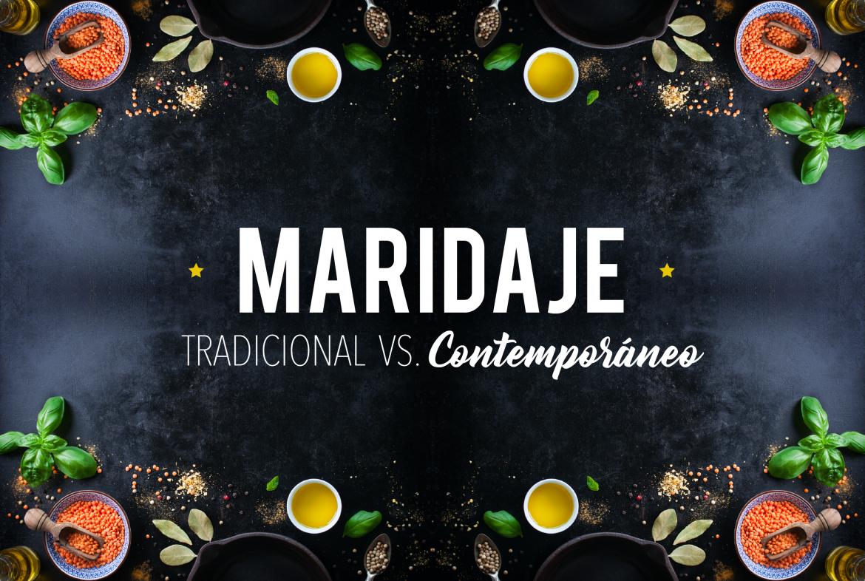 Tipos de maridaje: tradicional y contemporáneo