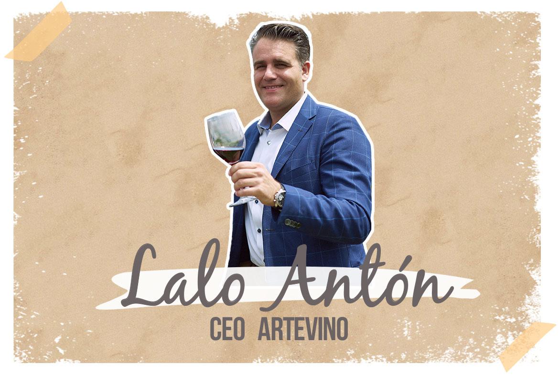Lalo Antón. Artevino/Bodega Izadi