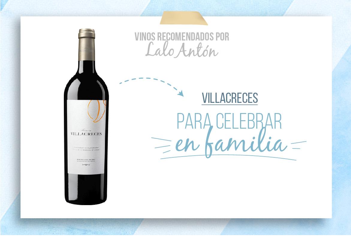 Villacreces: un vino para celebrar en familia