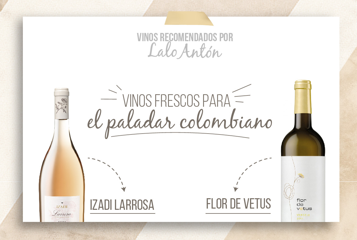 Vinos para el paladar colombiano