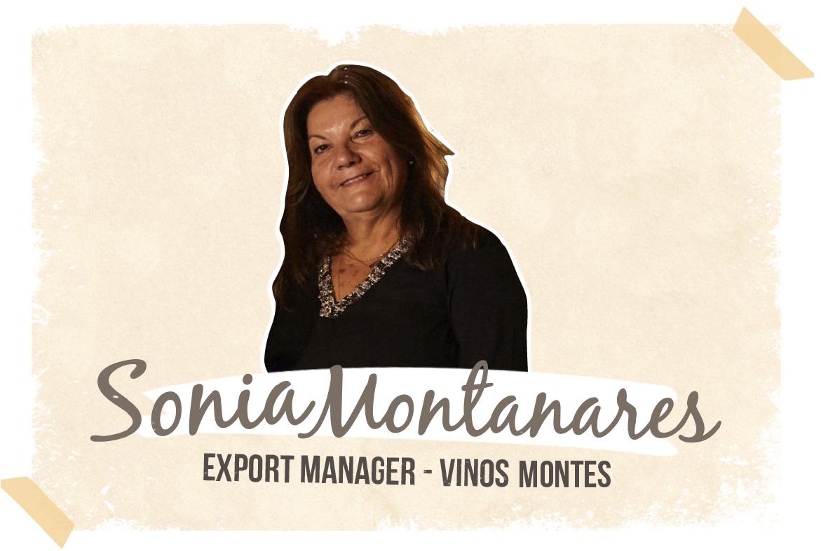 Sonia Montanares- Exportaciones Vinos Montes