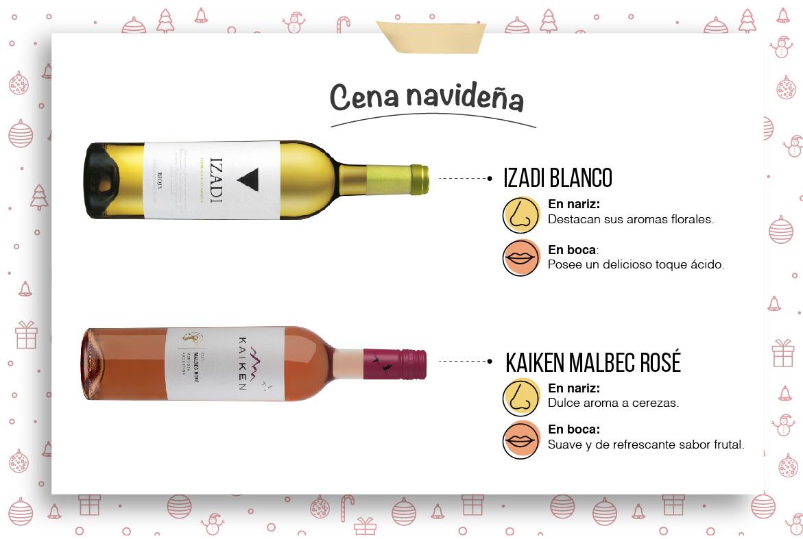 Un vino para cena navideña