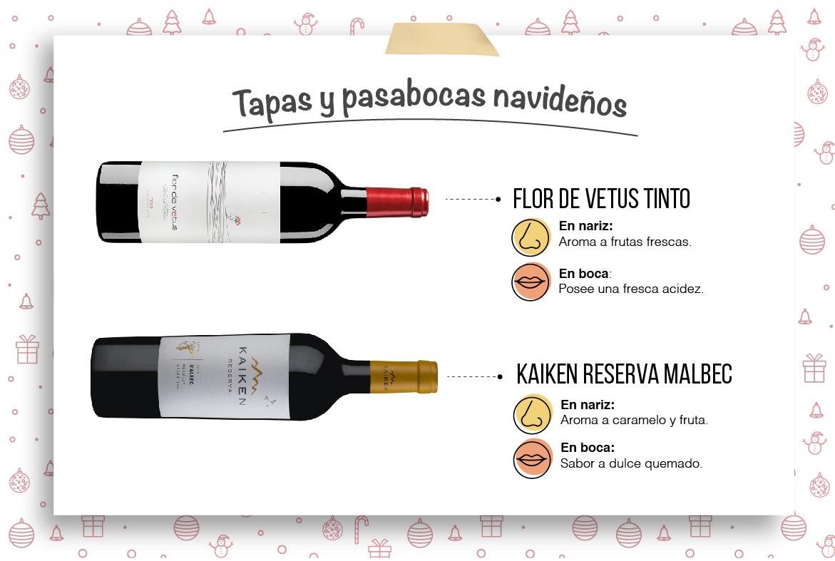 Un vino para los pasabocas navideños