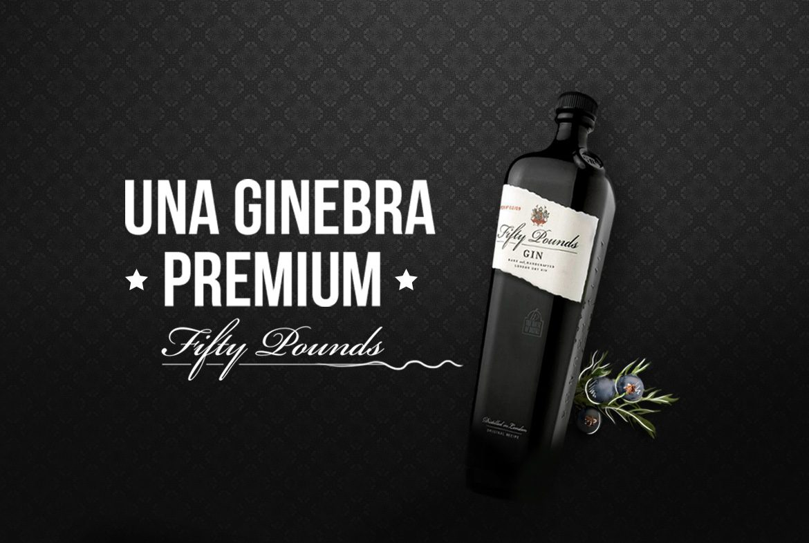 Fifty Pounds una ginebra Premium