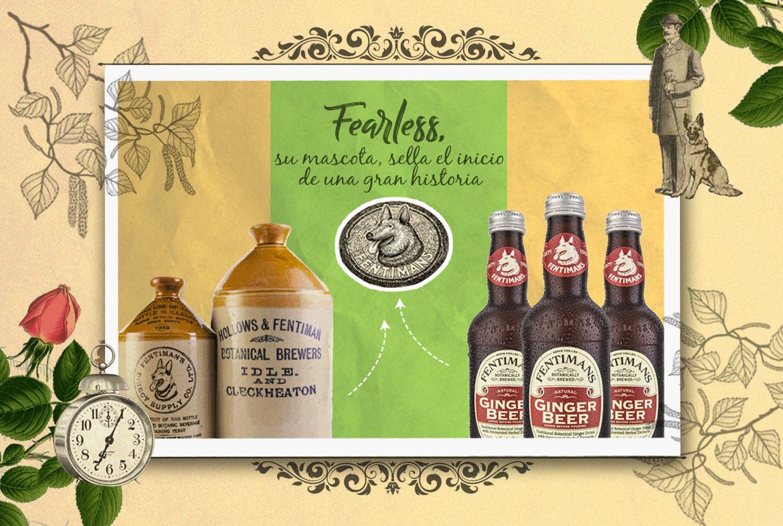 La cerveza de jengibre Fentimans