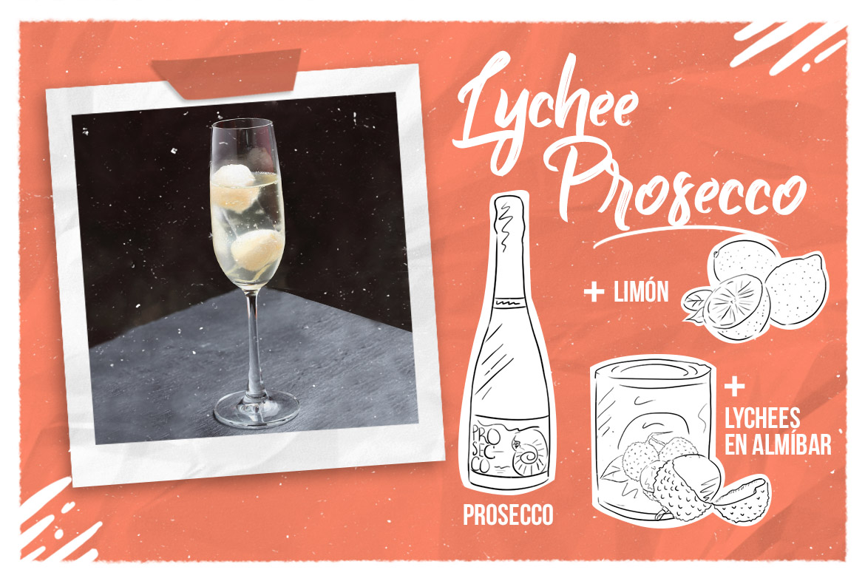 Lychee Prosecco