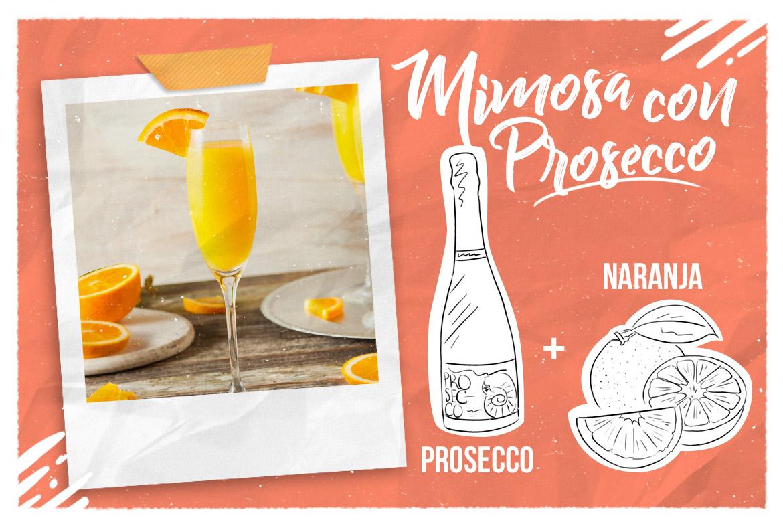 Mimosa con Prosecco