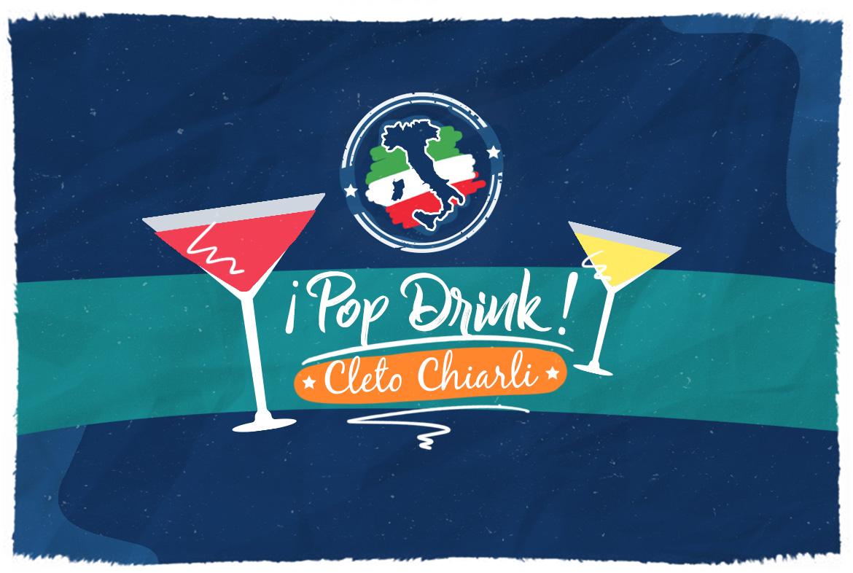 ¡Pop Drink con Cleto Chiarli! ¡Diviértete aprendiendo en un minuto!