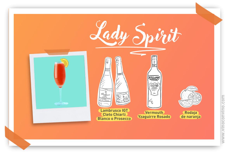 Celebrar el Día de la Madre con Lady Spirit