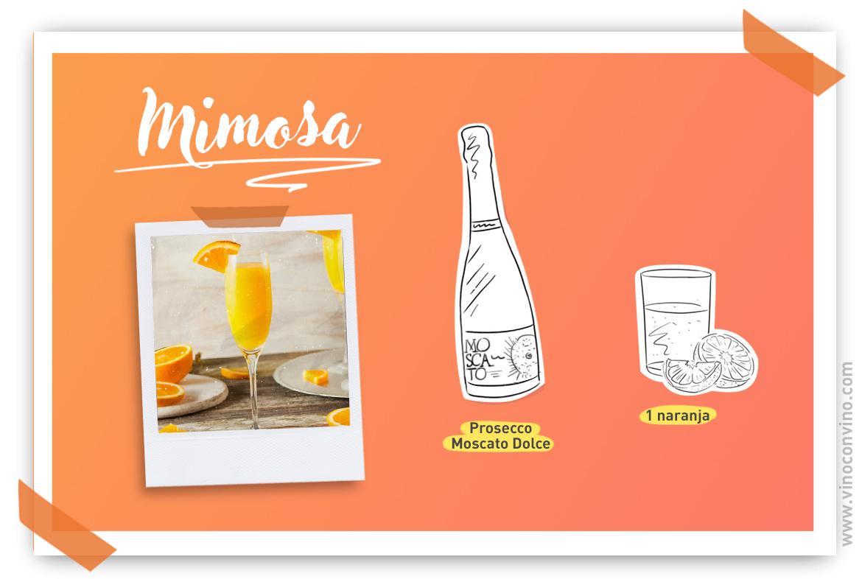 Celebrar el Día de la Madre con Mimosa