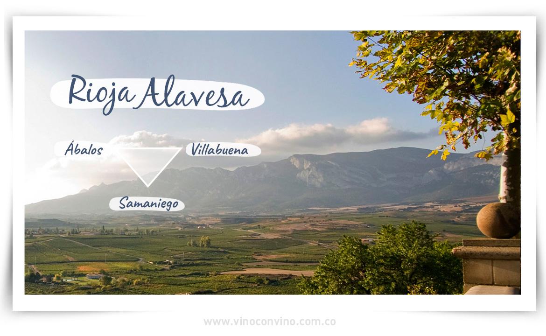 Rioja alavesa donde se crea Izadi Crianza
