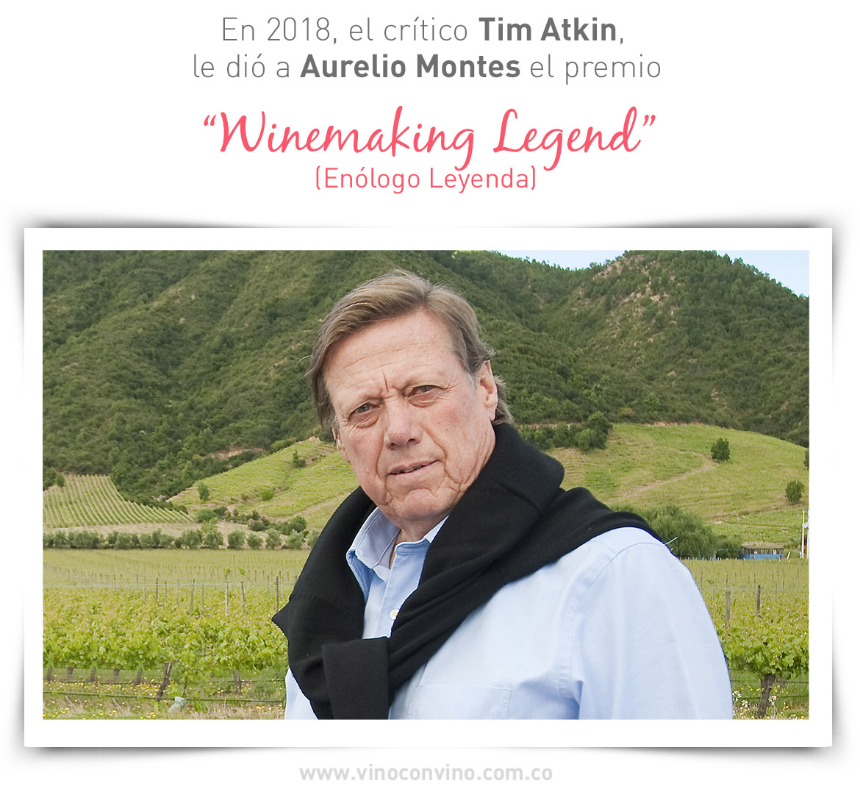 Aurelio Montes- Leyenda del vino